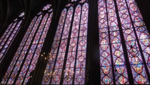 Witraże w Sainte-Chapelle