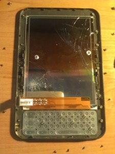 Kindle Keyboard - broken screen