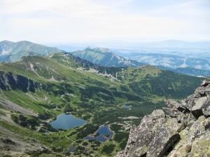 Widok z Kościelca(2155 m), fot. Tomasz Sikorski