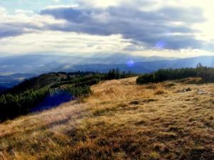 Widok z Małej Babiej Góry