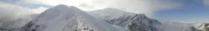 Panorama Czerwonych Wierchów z Kondrackiej Przeleczy