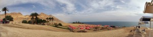 Panorama znad Morza Martwego, fot. Filip