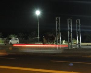 """Stopem przez Palestynę: """"zaparkowany"""" przy stacji wielbłąd"""