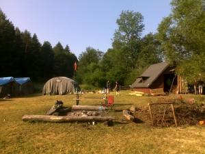 Studencka baza namiotowa Radocyna