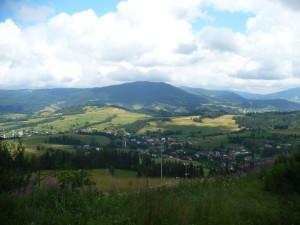 Luboń, widok z Maciejowej