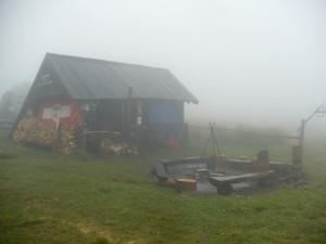 Studencka baza namiotowa na Lubaniu