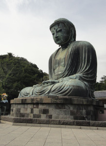 Posąg Buddy w Kamakurze