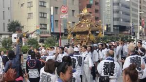 Święto urodzaju na ulicach Tokio