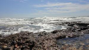 Kamienista plaża, Morze Śródziemne