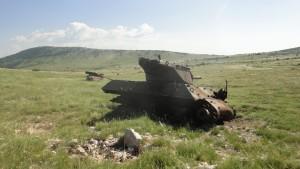 Wraki czołgów, Chorwacja