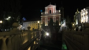 Potrójny Most, Lublana