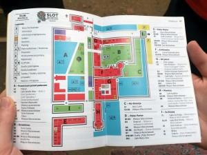 Mapa festiwalowa